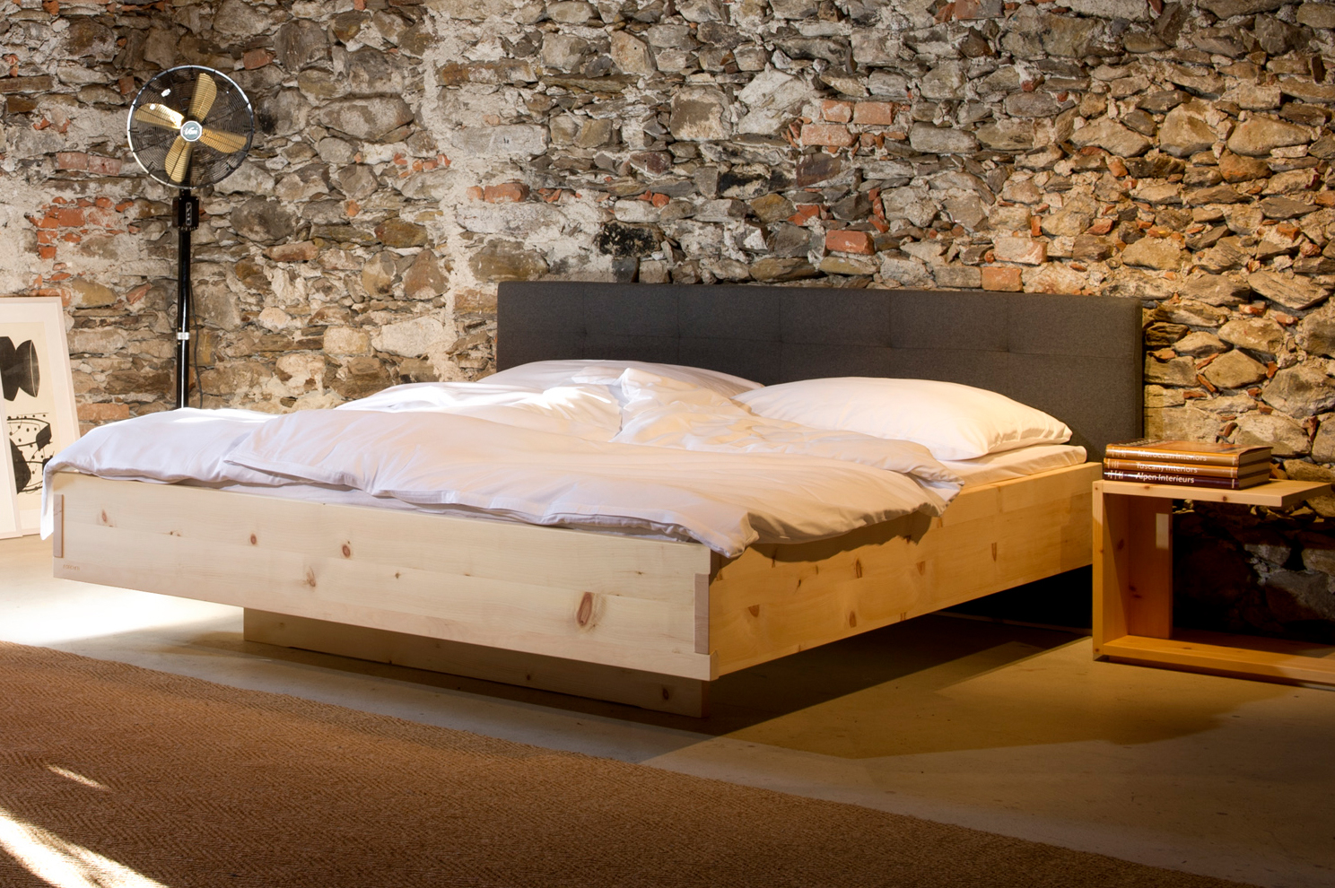 Zirbenholz Schlafzimmer, Zirbenholz Möbel, Zirbenholz Betten, Innviertel
